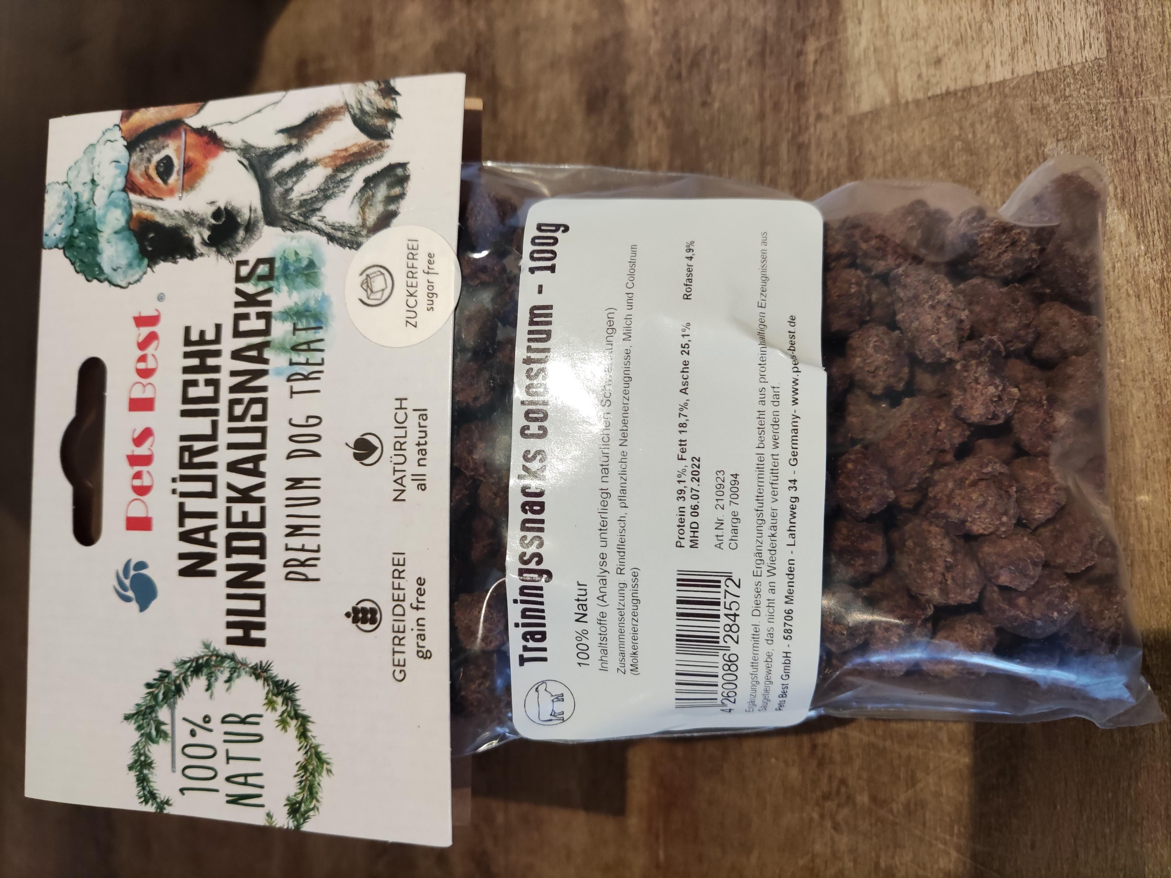 Trainingssnacks Rindfleisch/Colostrum