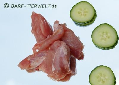 Lamm-Muskelfleisch gewürfelt