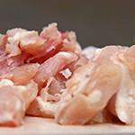 Hühnchenfleischstückchen