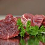 Rindfleischwürfel (Muskel) durchwachsen
